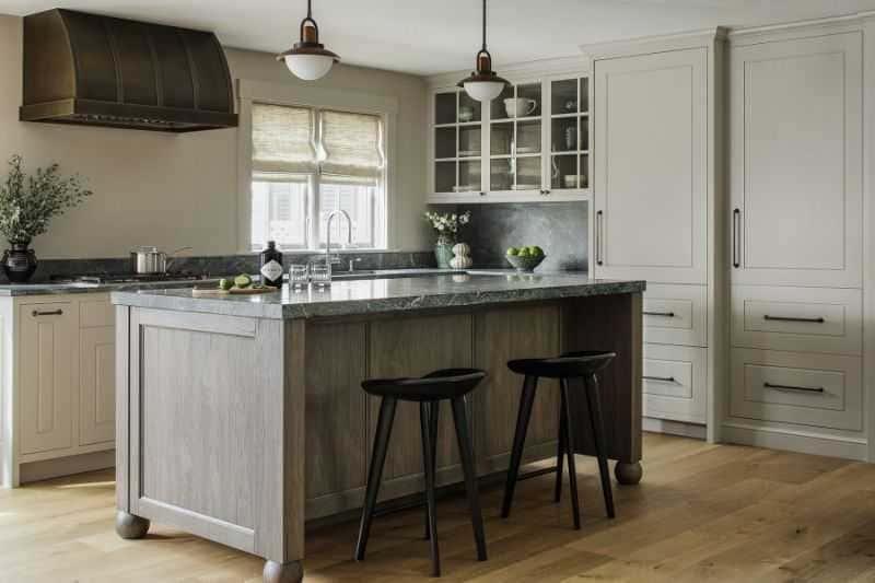 Дизайн кухни - ТОП 150 фото эксклюзивных новинок 010