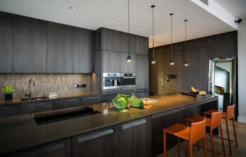 Дизайн кухни - ТОП 150 фото эксклюзивных новинок 011