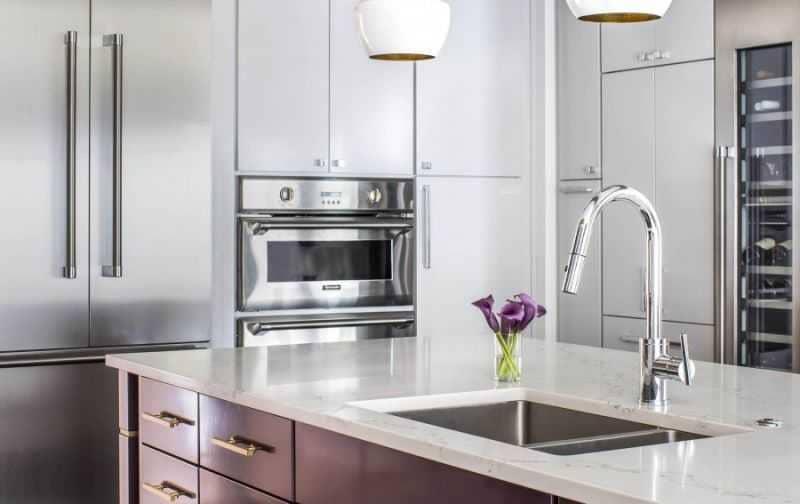 Дизайн кухни - ТОП 150 фото эксклюзивных новинок 017