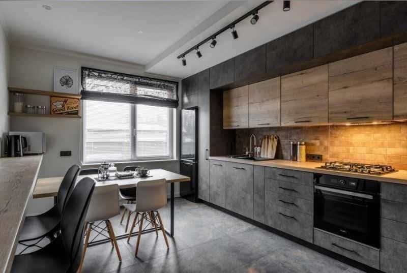 Дизайн кухни - ТОП 150 фото эксклюзивных новинок 019