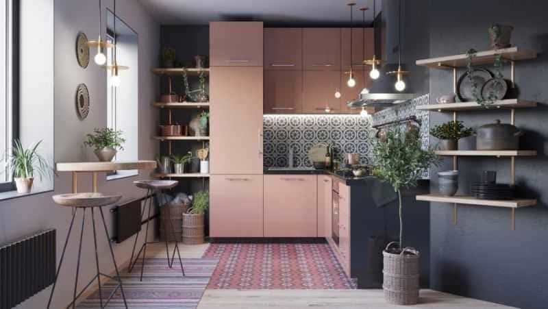 Дизайн кухни - ТОП 150 фото эксклюзивных новинок 024