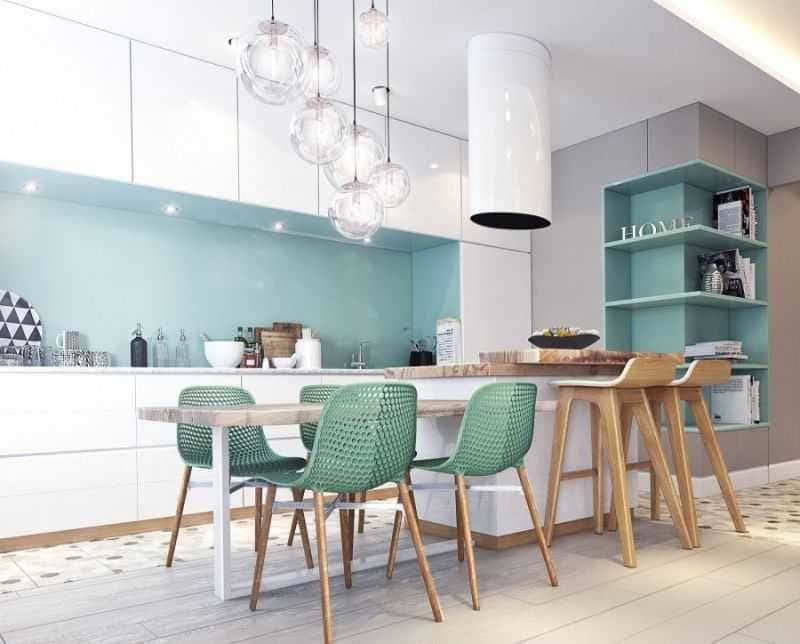 Дизайн кухни - ТОП 150 фото эксклюзивных новинок 027