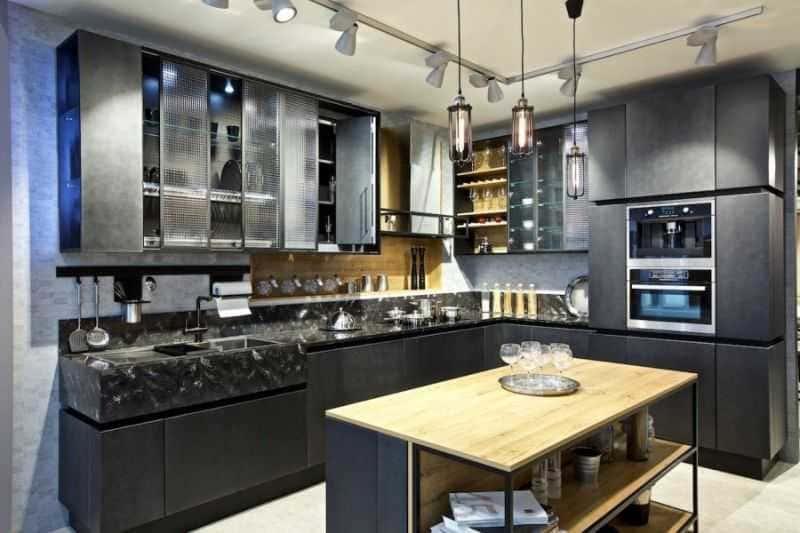Дизайн кухни - ТОП 150 фото эксклюзивных новинок 028