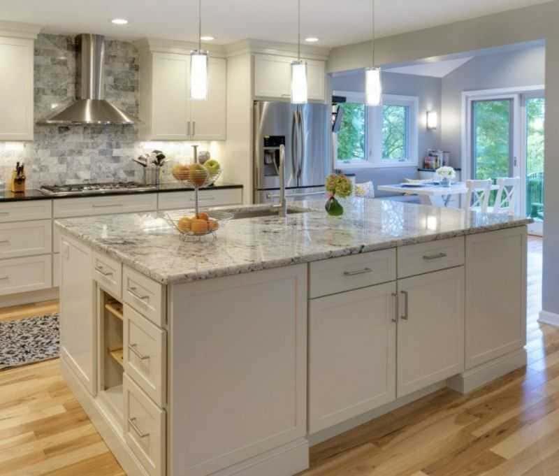 Дизайн кухни - ТОП 150 фото эксклюзивных новинок 029