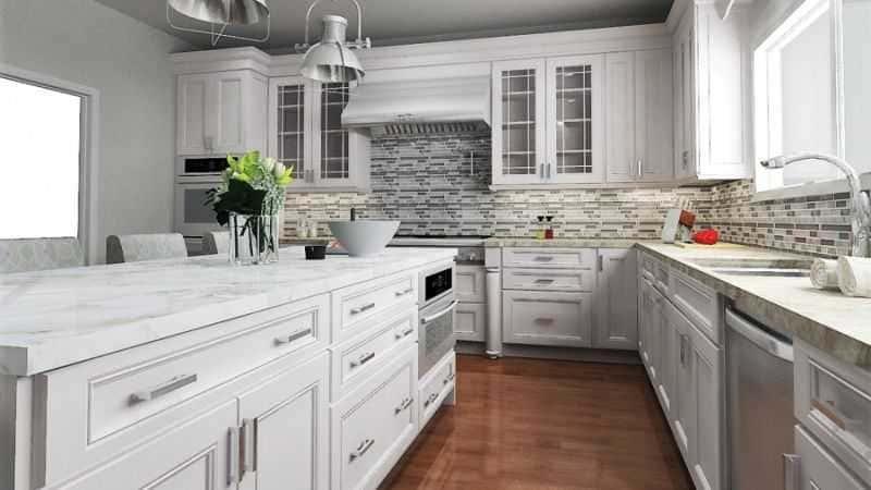 Дизайн кухни - ТОП 150 фото эксклюзивных новинок 030