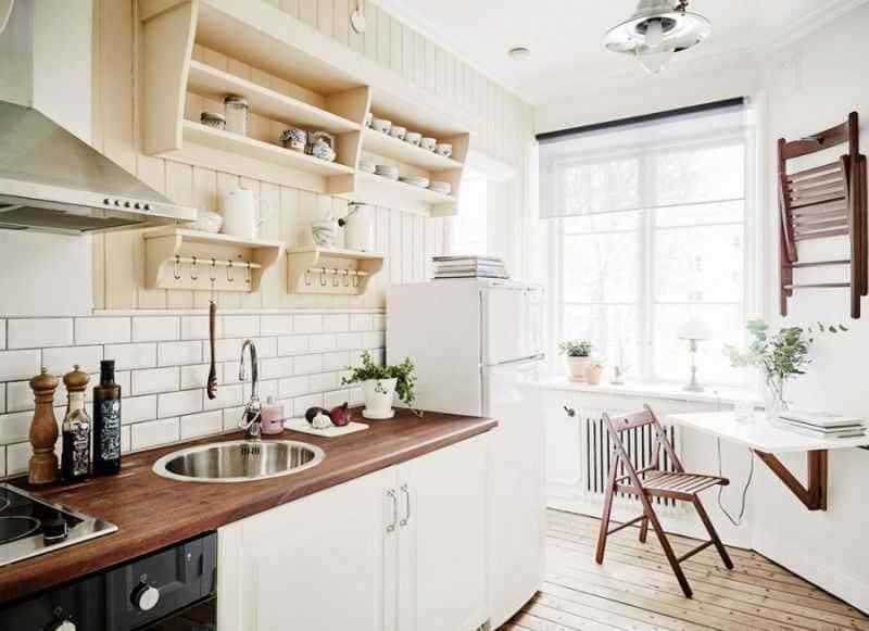 Дизайн кухни - ТОП 150 фото эксклюзивных новинок 047