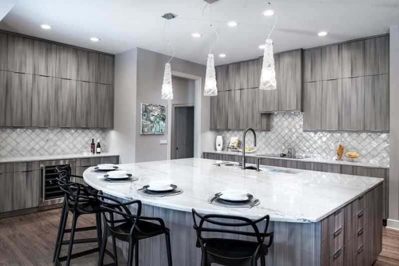Дизайн кухни - ТОП 150 фото эксклюзивных новинок 052