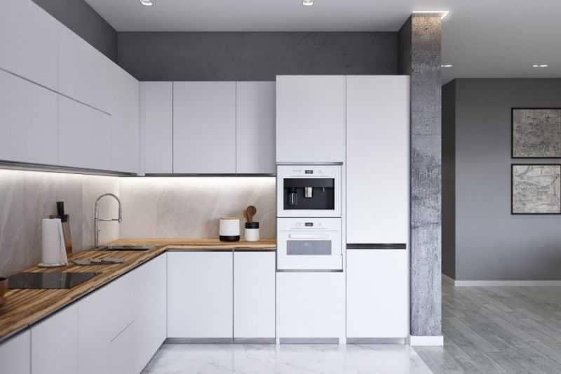 Дизайн кухни - ТОП 150 фото эксклюзивных новинок 058