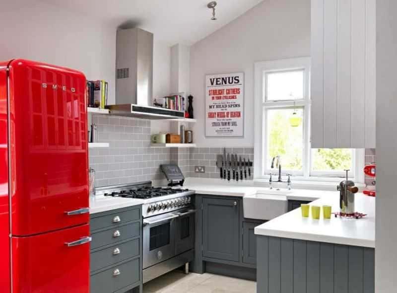 Дизайн кухни - ТОП 150 фото эксклюзивных новинок 063