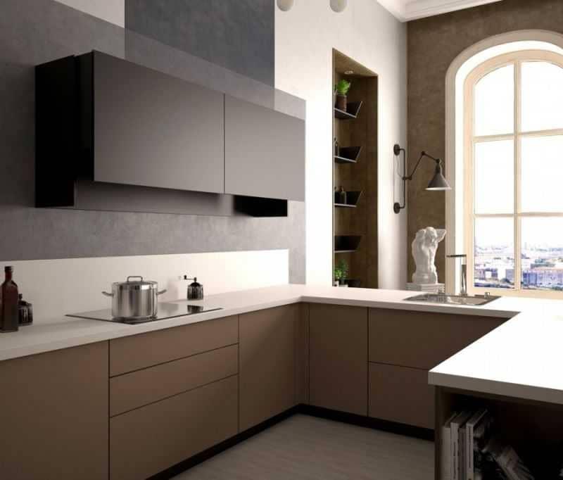Дизайн кухни - ТОП 150 фото эксклюзивных новинок 066