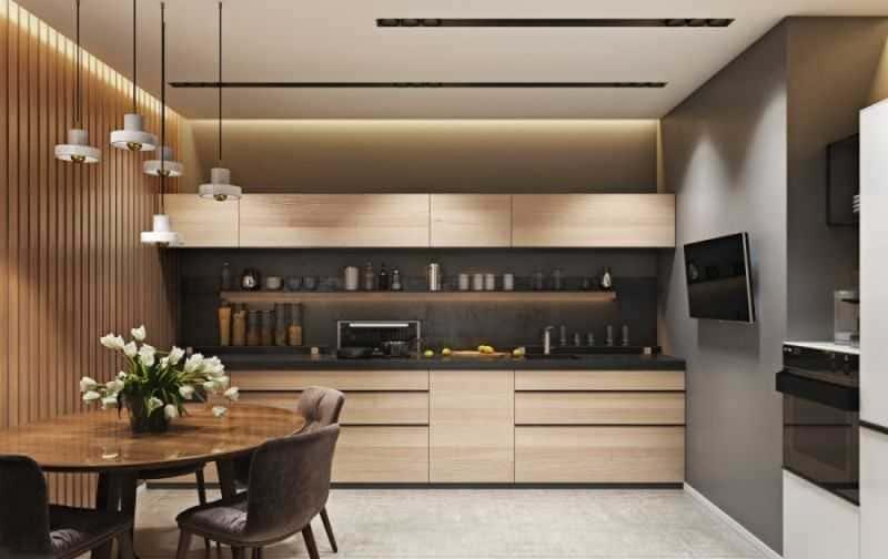 Дизайн кухни - ТОП 150 фото эксклюзивных новинок 069