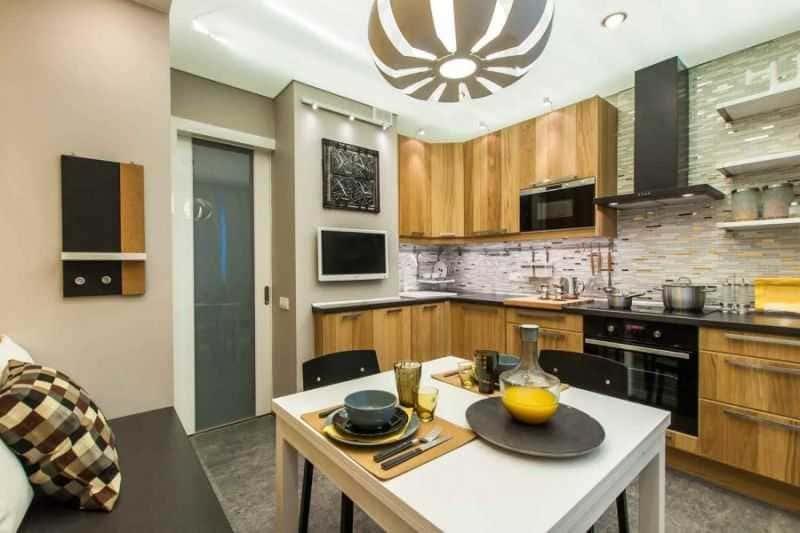 Дизайн кухни - ТОП 150 фото эксклюзивных новинок 071