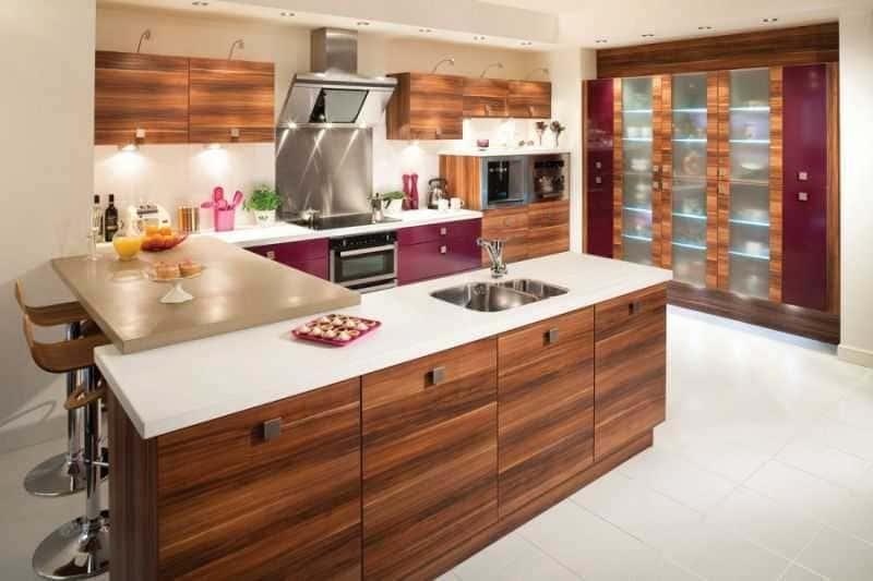 Дизайн кухни - ТОП 150 фото эксклюзивных новинок 088