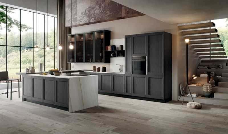 Дизайн кухни - ТОП 150 фото эксклюзивных новинок 091