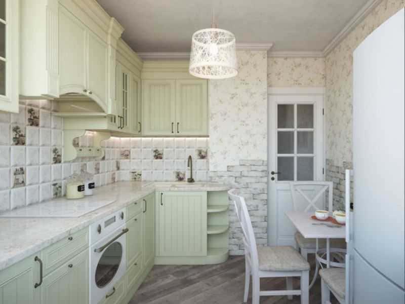 Дизайн кухни - ТОП 150 фото эксклюзивных новинок 092