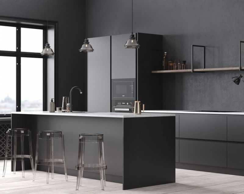 Дизайн кухни - ТОП 150 фото эксклюзивных новинок 095