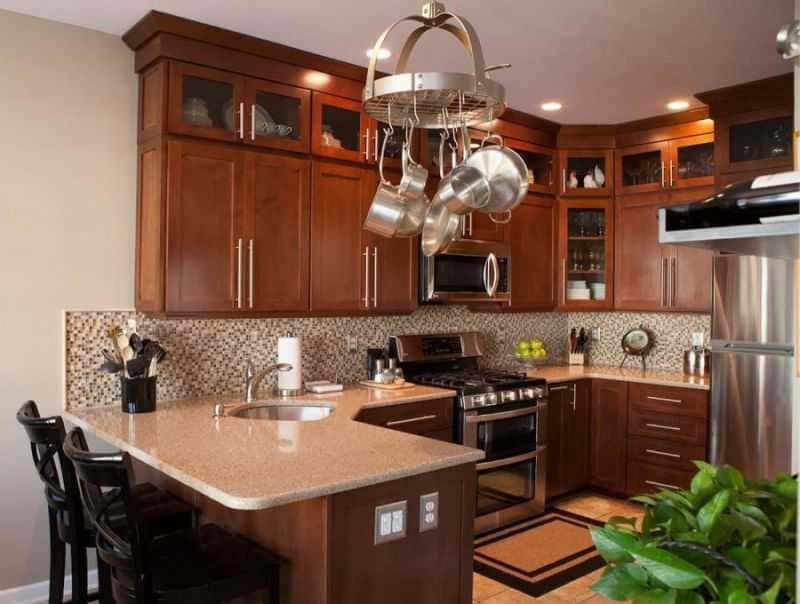 Дизайн кухни - ТОП 150 фото эксклюзивных новинок 097