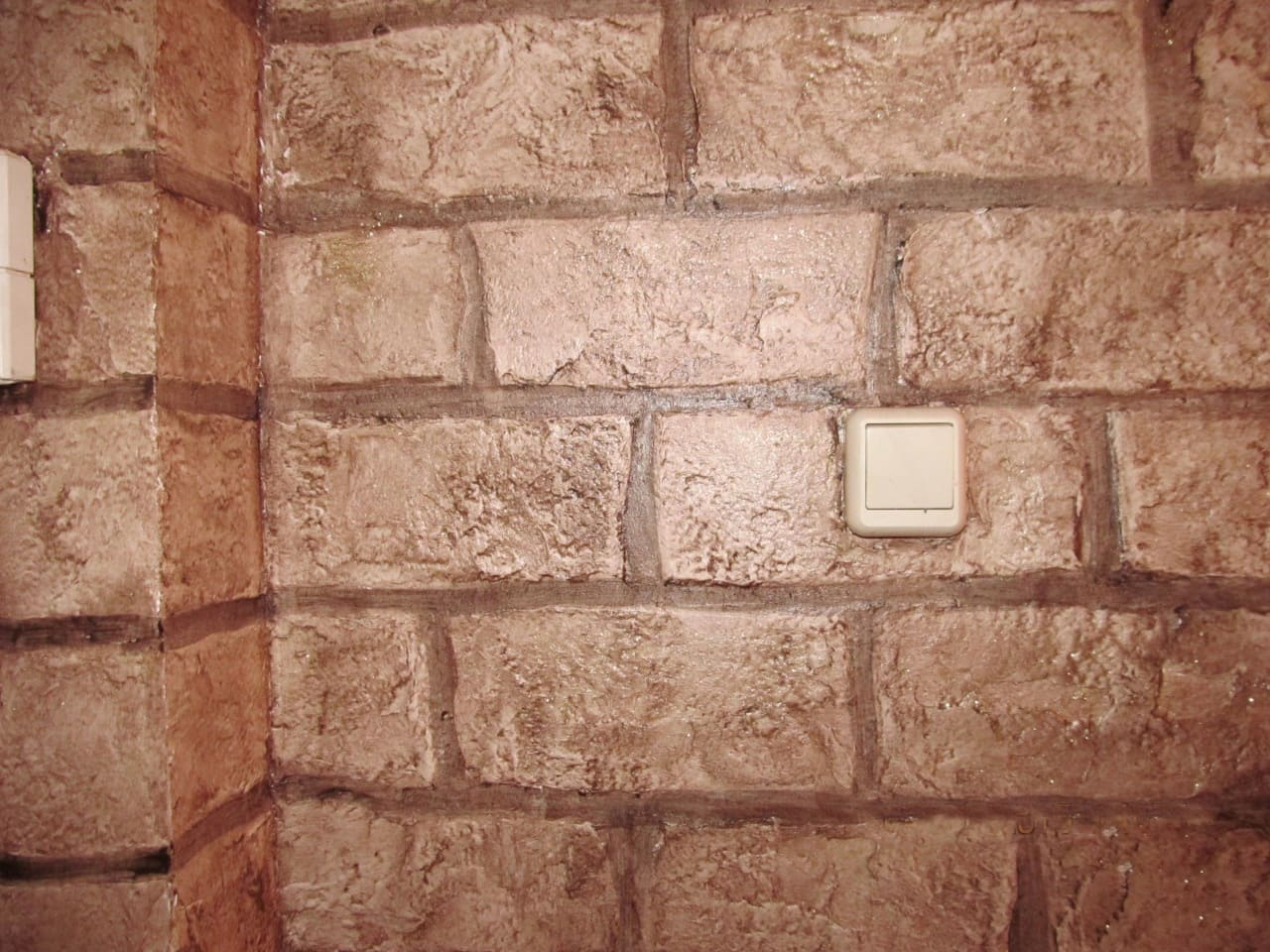 Отделка стен декоративной штукатуркой 012