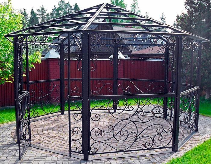 Виды дачных беседок - идеи простых садовых, открытых и закрытых вариантов 179