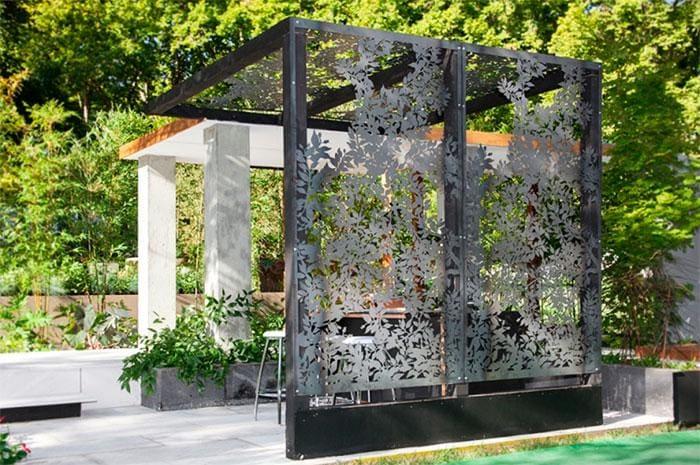 Виды дачных беседок - идеи простых садовых, открытых и закрытых вариантов 260