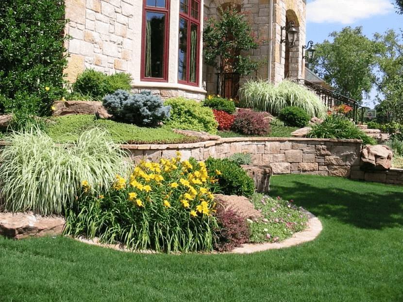 Ландшафтный дизайн – основы и правила создания красивого сада 004